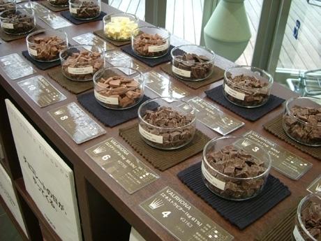今年の「チョコレートコレクション」は前回よりさらに種類も増えて63種類のチョコレートが用意される(写真は過去イベント時のもの)