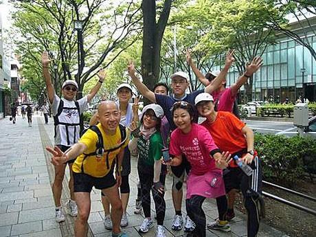 「食べて、走って、元気になる」をテーマに、東京都心をメーンに走るランイベント「JOY RUN」(写真は過去開催時の様子)