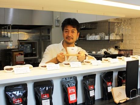 奥沢駅前にコーヒー専門店-シングルオリジンコーヒー12種類を提供