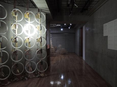 井口雄介さん個展「Stock Works.Ltd」インスタレーション展示の様子