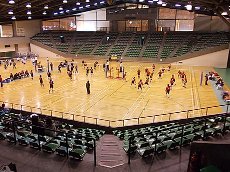 1964年東京オリンピックでバレーボール競技のメーン会場として使われた、駒沢オリンピック公園総合運動場「屋内球技場」