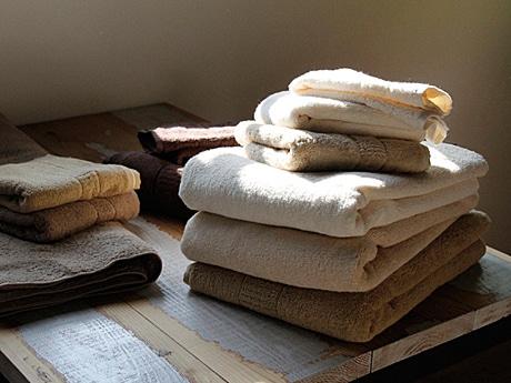 オーガニックや環境配慮にこだわる「IKEUCHI ORGANIC」のタオル
