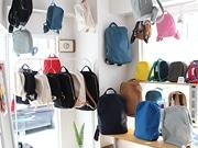 自由が丘の日本製雑貨セレクト店で「リュック」展 デザイン性と機能性に注目