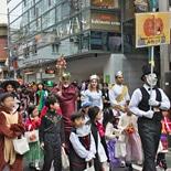 自由が丘で子ども向けハロウィーンイベント パレードやスタンプラリーも