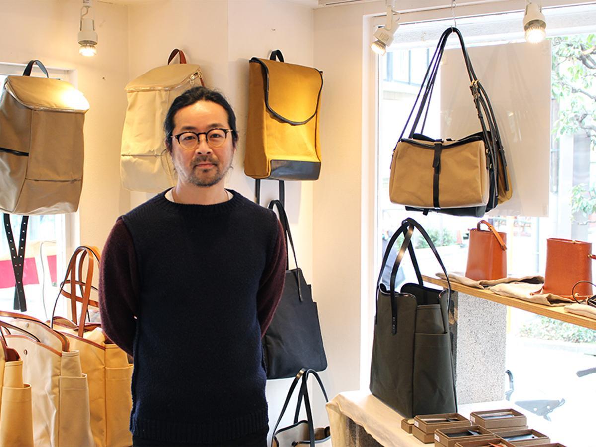 自由が丘で国産バッグブランドの期間限定店 外国で支持受ける技術とデザイン