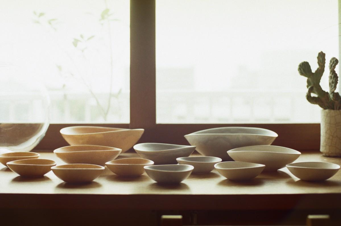 「4 Seasons dish」第1弾となる「Autumn-Winter」シリーズ  (写真:江原隆司)