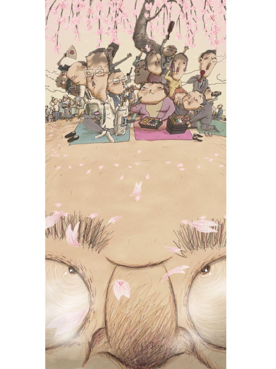 山村浩二さんが手掛けたアニメーション作品「頭山」