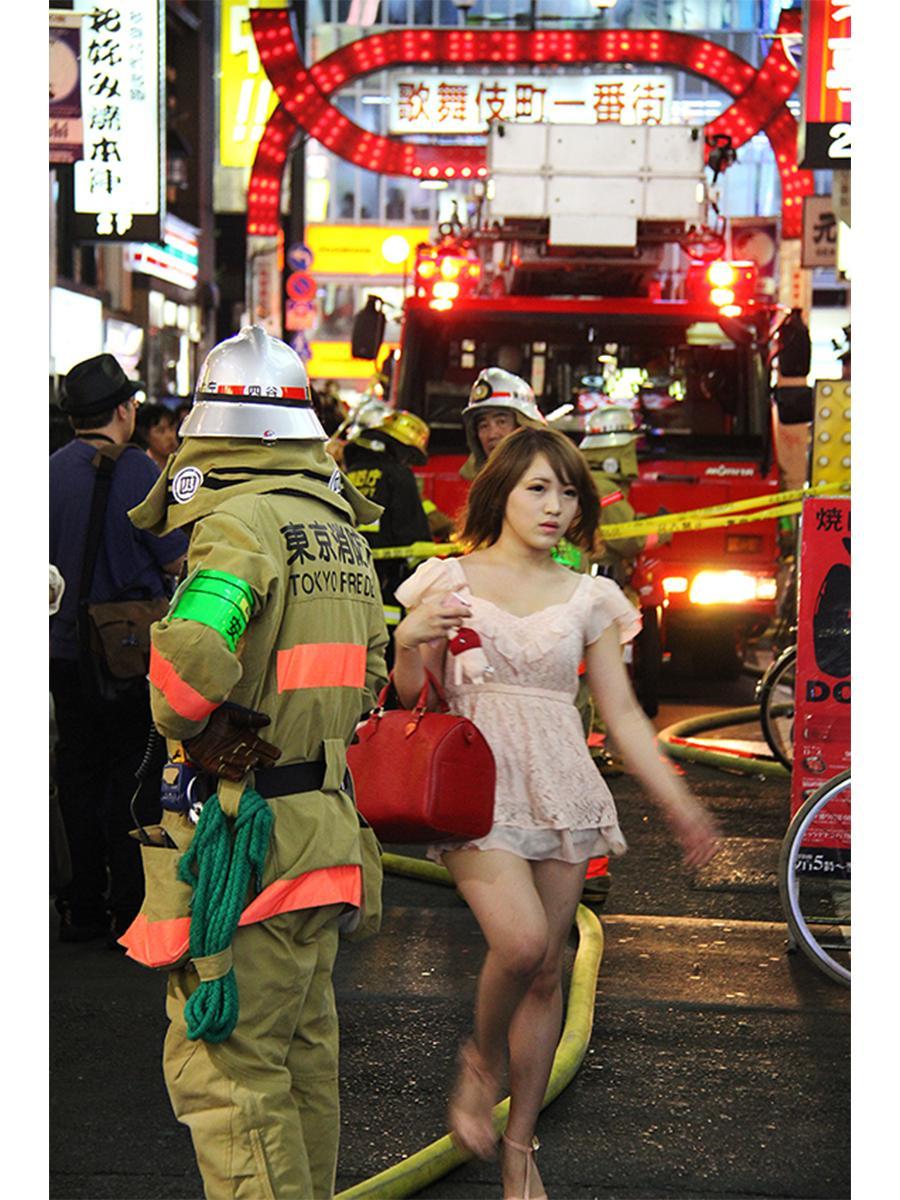写真家・梁丞佑さんの写真展「人間模様」の作品から