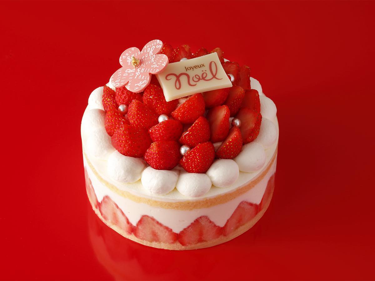 資生堂パーラー 自由が丘店で予約販売を行うクリスマスケーキ「ガトーノエル」