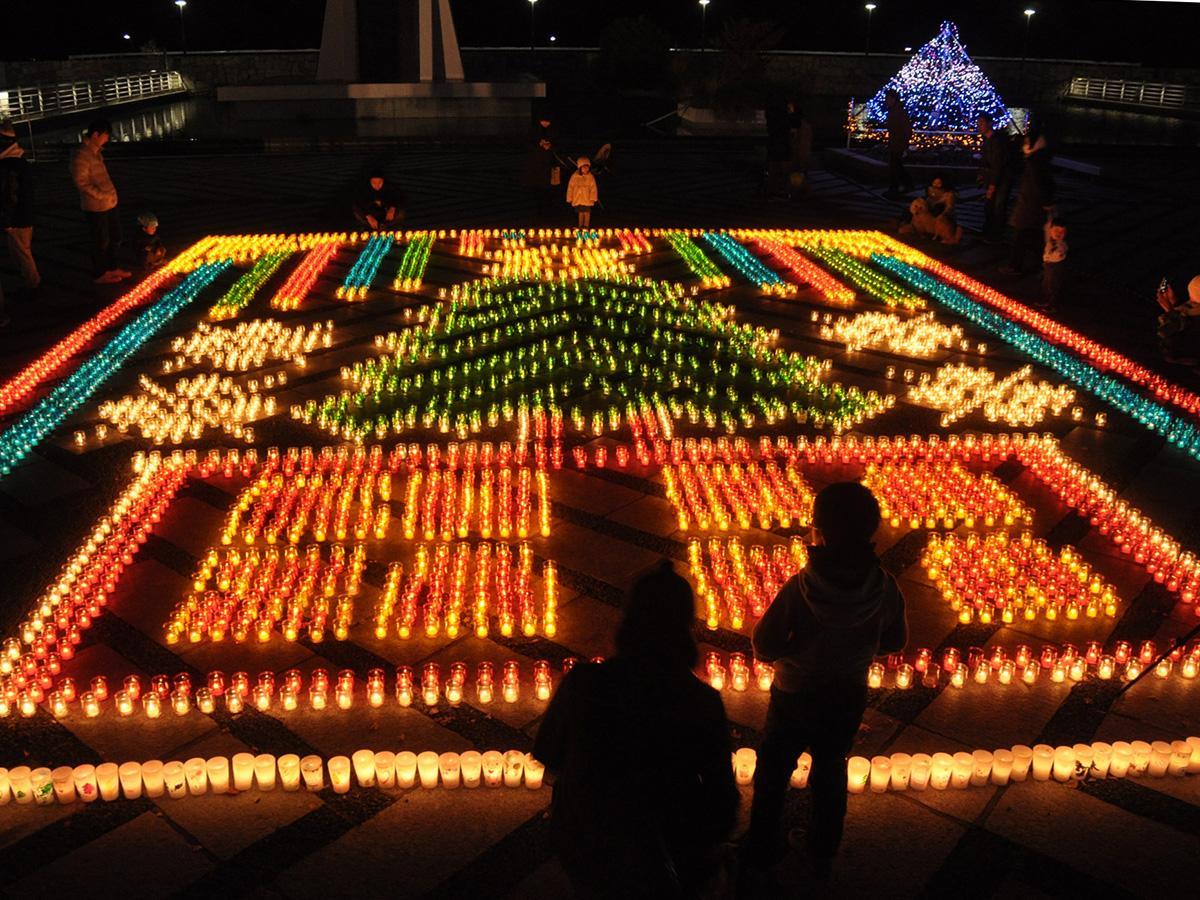 「駒沢ファンタジア」で恒例となっているキャンドルアート(写真は過去開催時の様子)