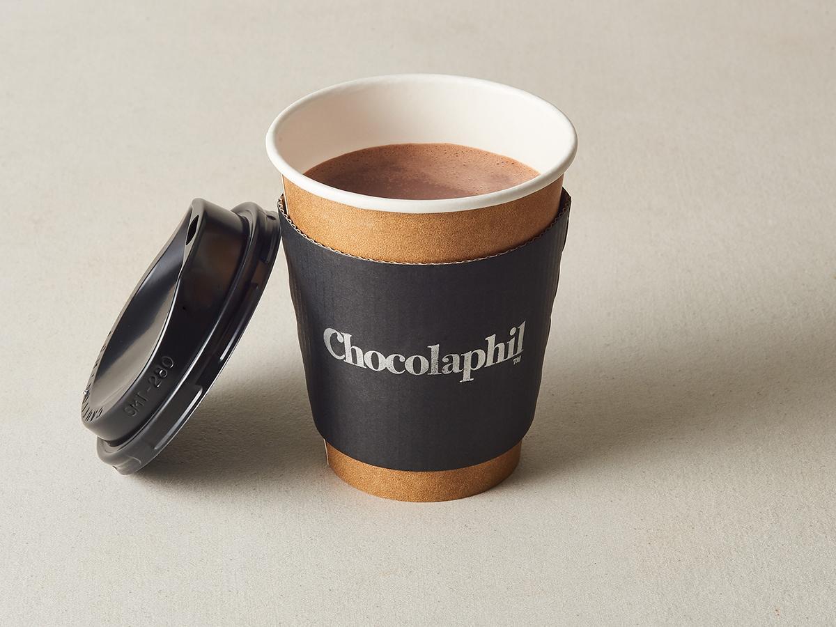 「カカオの味と香りを存分に楽しめる」という冬季限定ドリンク「ホットチョコレート」