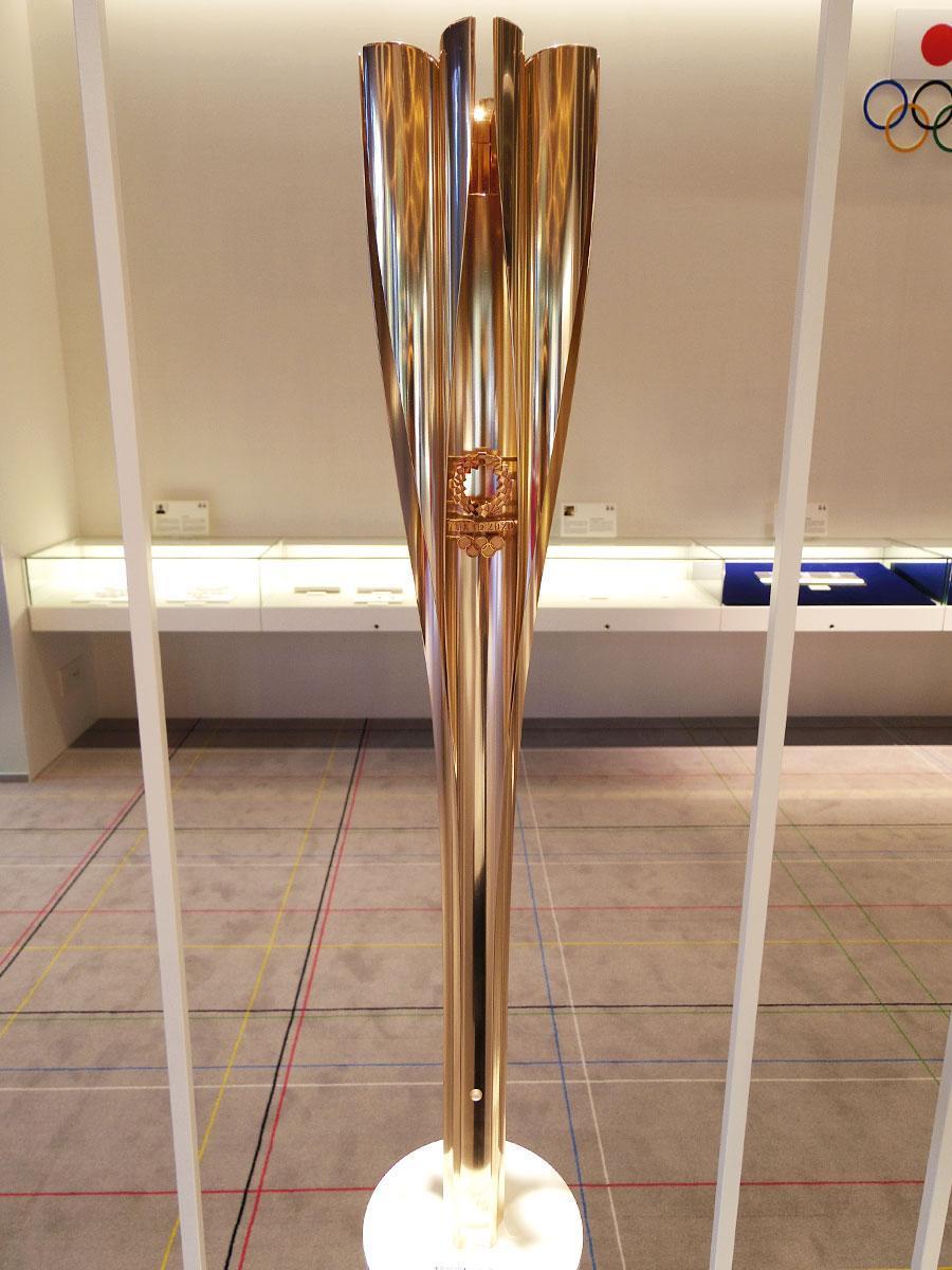 2020年東京オリンピック聖火リレートーチ(写真提供=シブヤ経済新聞)