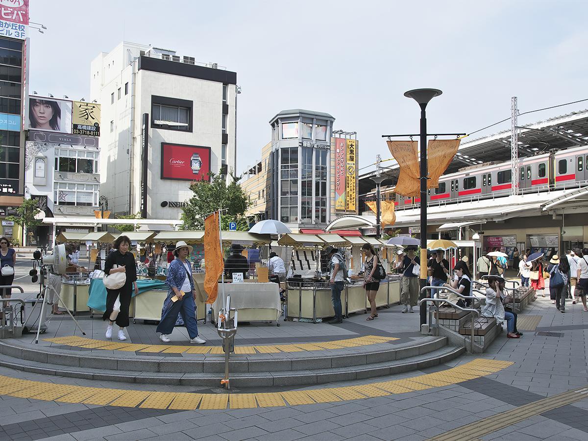 自由が丘駅前・女神広場(イメージ)