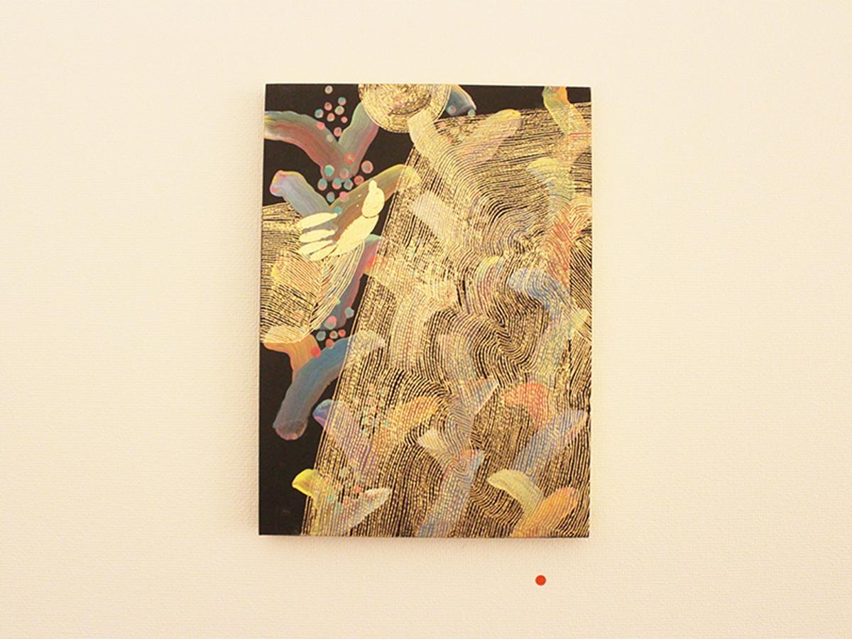 画家・大岡弘晃さんの個展「かかきき」作品から