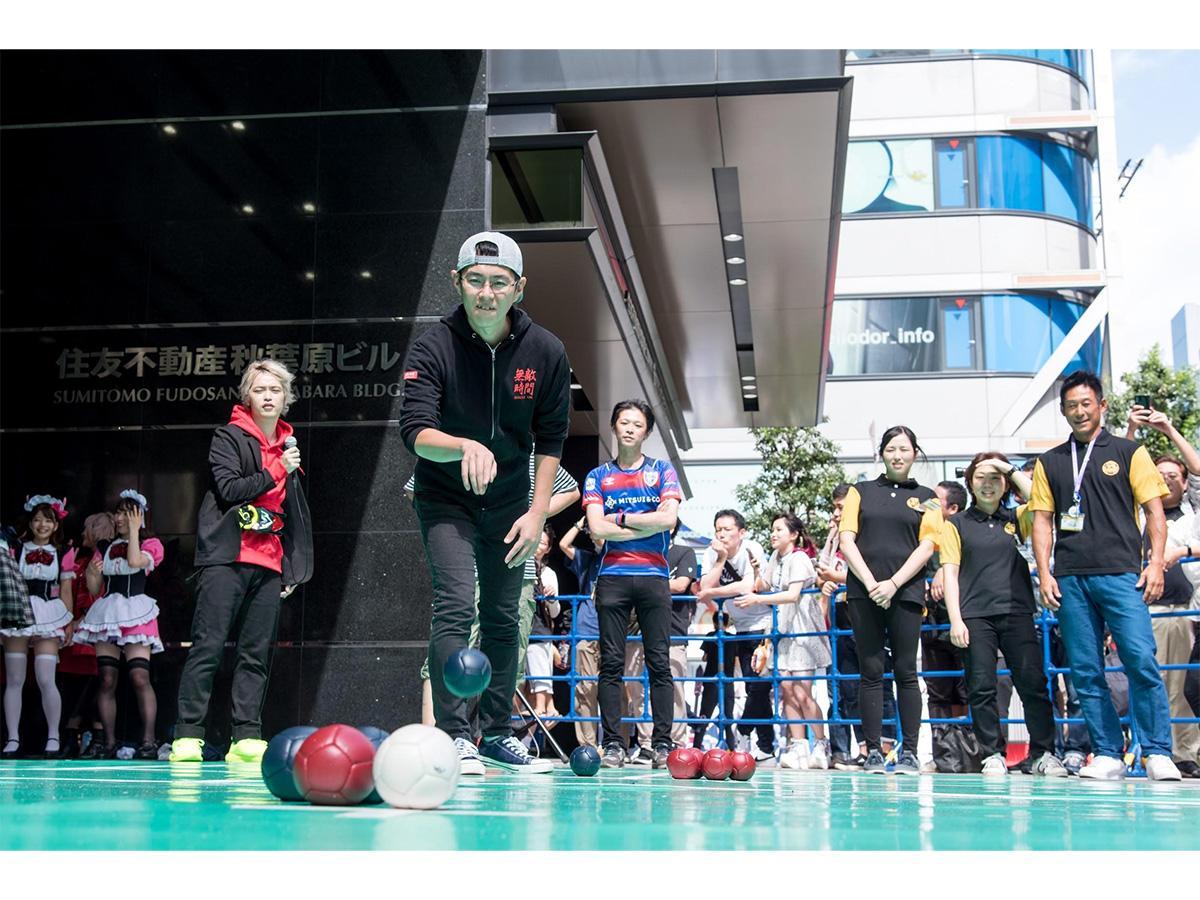 大会出場チームを募集しているトーナメント形式のボッチャ大会「BOCCIA BEYOND CUP」(写真は過去開催時の様子)