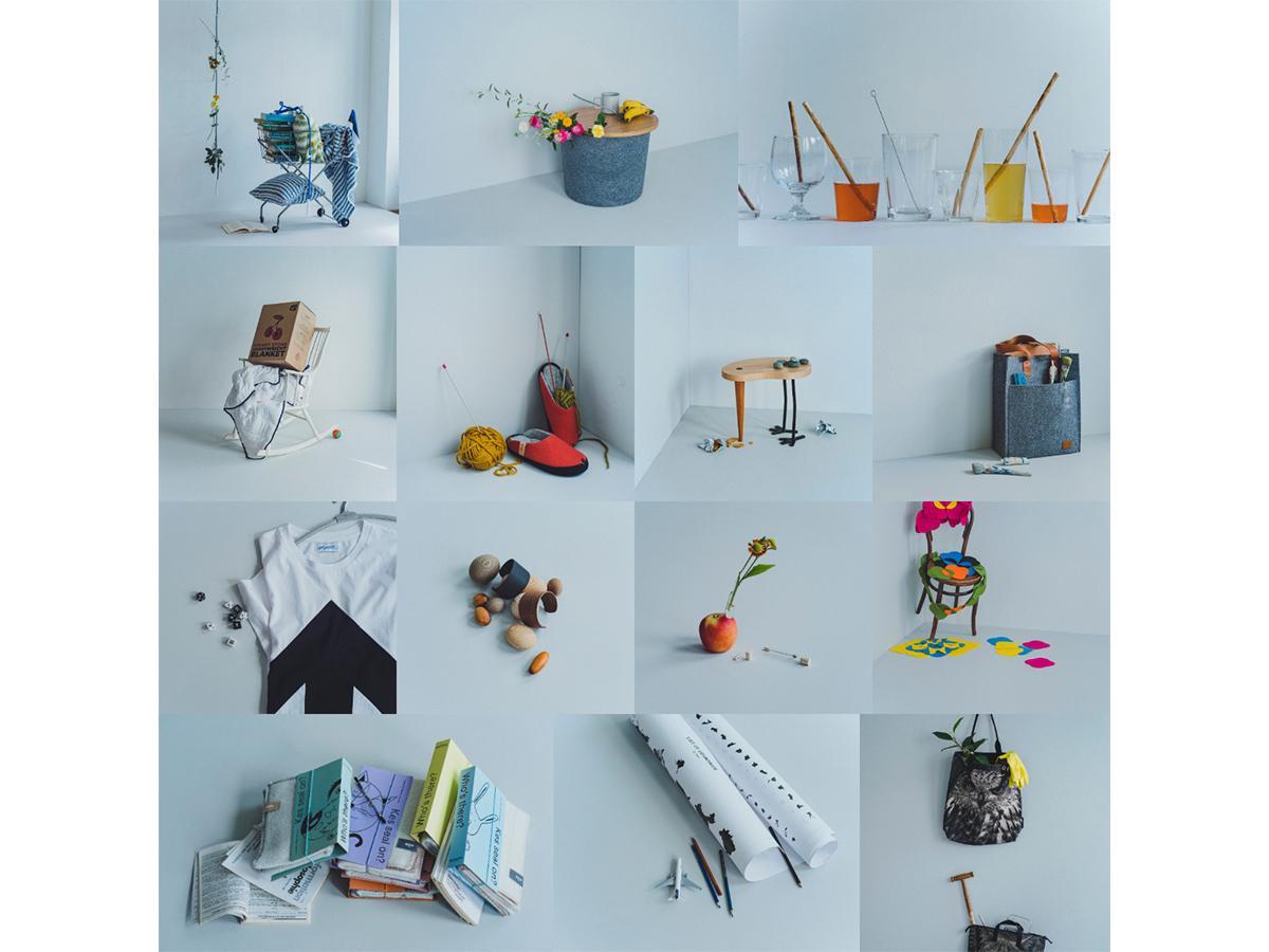 エストニアのブランドやデザイナー計15組を紹介する「サンクチュアリ - 小さくていいこと - Secret of Estonia」出展アイテム