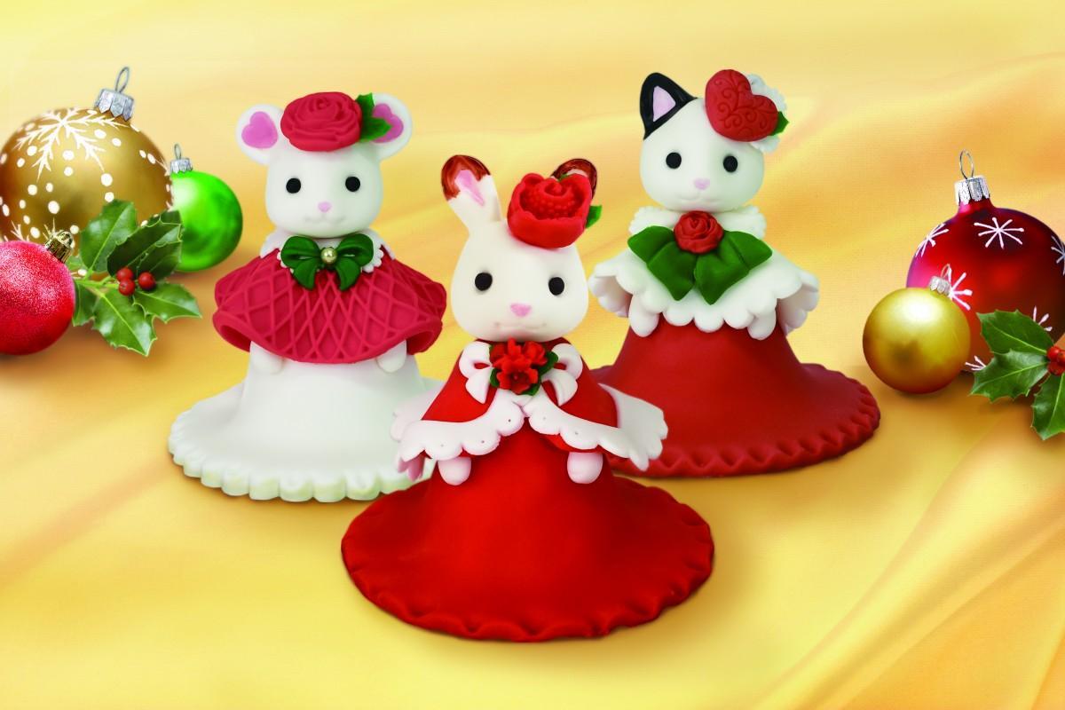 エコールシュクレ「3Dシュガーケーキ~シルバニアファミリークリスマス2020~」