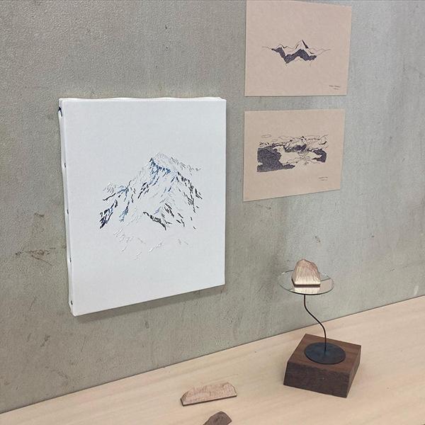 山好きな作家3人による「山」作品を展示する「妄想山展」