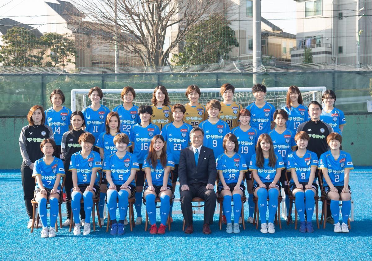 なでしこリーグ1部に昇格し、駒沢競技場でホーム開幕戦を迎える「スフィーダ世田谷FC」