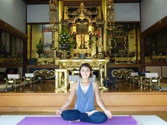 深沢神社、玉川・浄行寺で「テラヨガ」 地域の寺社で交流、「笑顔で過ごせる場所」に