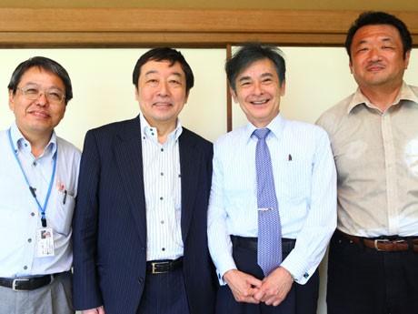 「いまこそ議を言おう」左から梶原さん、寺脇さん、原口さん、蔵満さん。