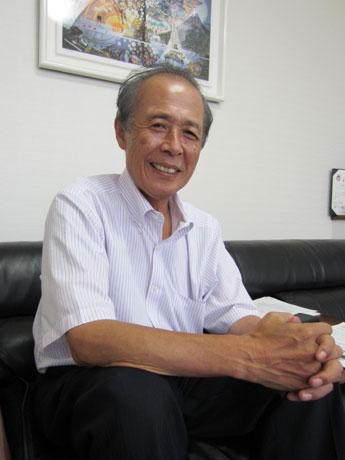 上町タウンマネジメント代表幹事、内村文泰さん。