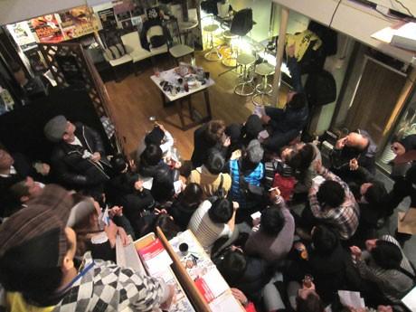 80人を超えた「オトナの社交場」の参加者たち