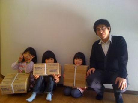 「もったいない」を「ありがとう」へ。「フードバンクかごしま」の活動を続ける原田さん。