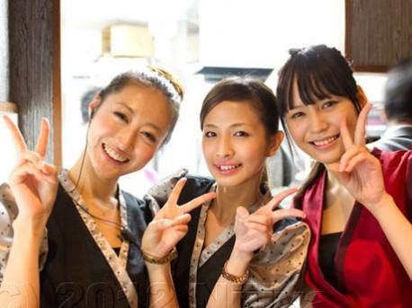 鹿児島・天文館に美人居酒屋「Happy Dining 虹屋」がオープン。「美人時計」などを運営する「ミエルカ」がプロデュースする美人企画第3弾。