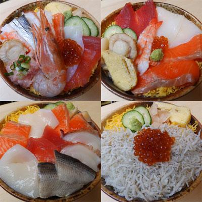 鹿児島大学近くで、すし屋の大将が始めた580円均一の丼もの店「どんぶり屋海鮮丸」が人気を集めている。