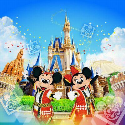 ディズニーの仲間たちが、子どもたちと「ミッキー音頭」を踊る夏祭りイベントが4月29日、ウォーターフロントパークで行われる。©Disney