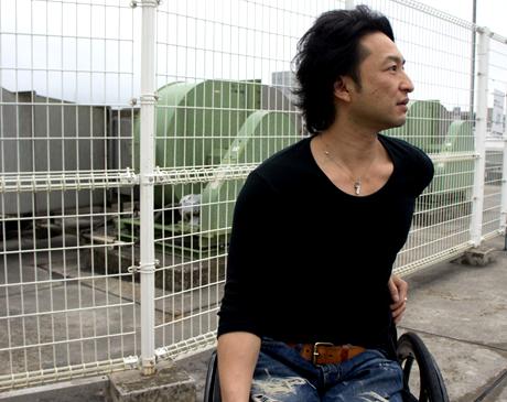 4月6日からハンドバイク日本縦断ツアーに出発する森圭一郎さん