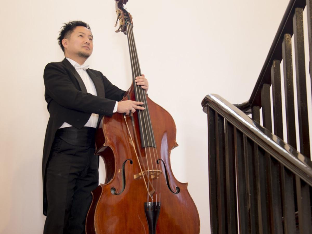 コントラバス奏者の森田良平さん