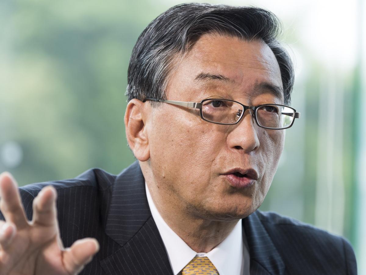 元トヨタ自動車副社長の井原保守さん