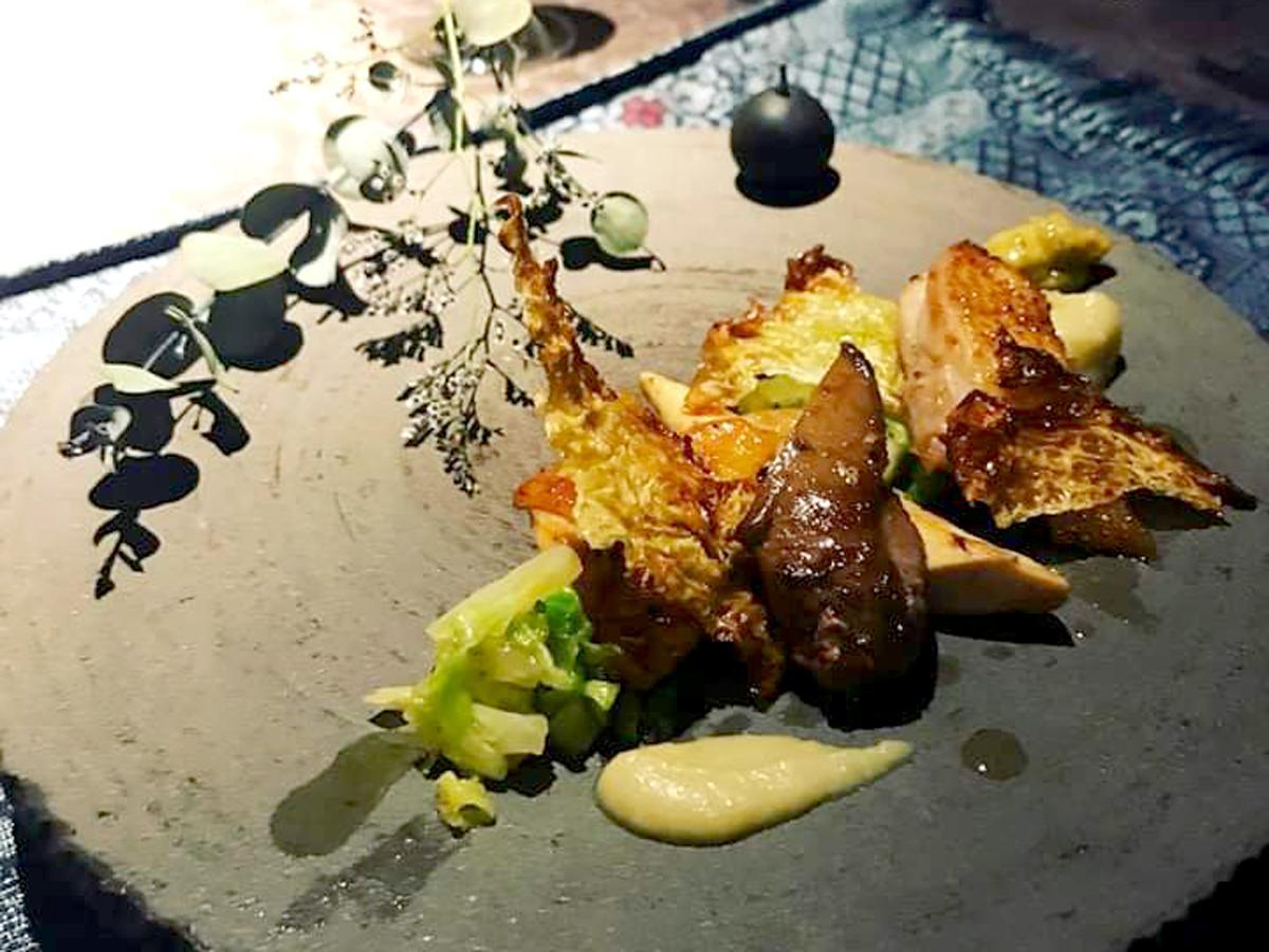 「レストラン ノリ」で提供している料理の一品