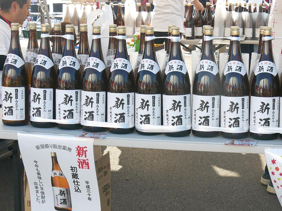 昨年の「いちき串木野新酒まつり」の様子