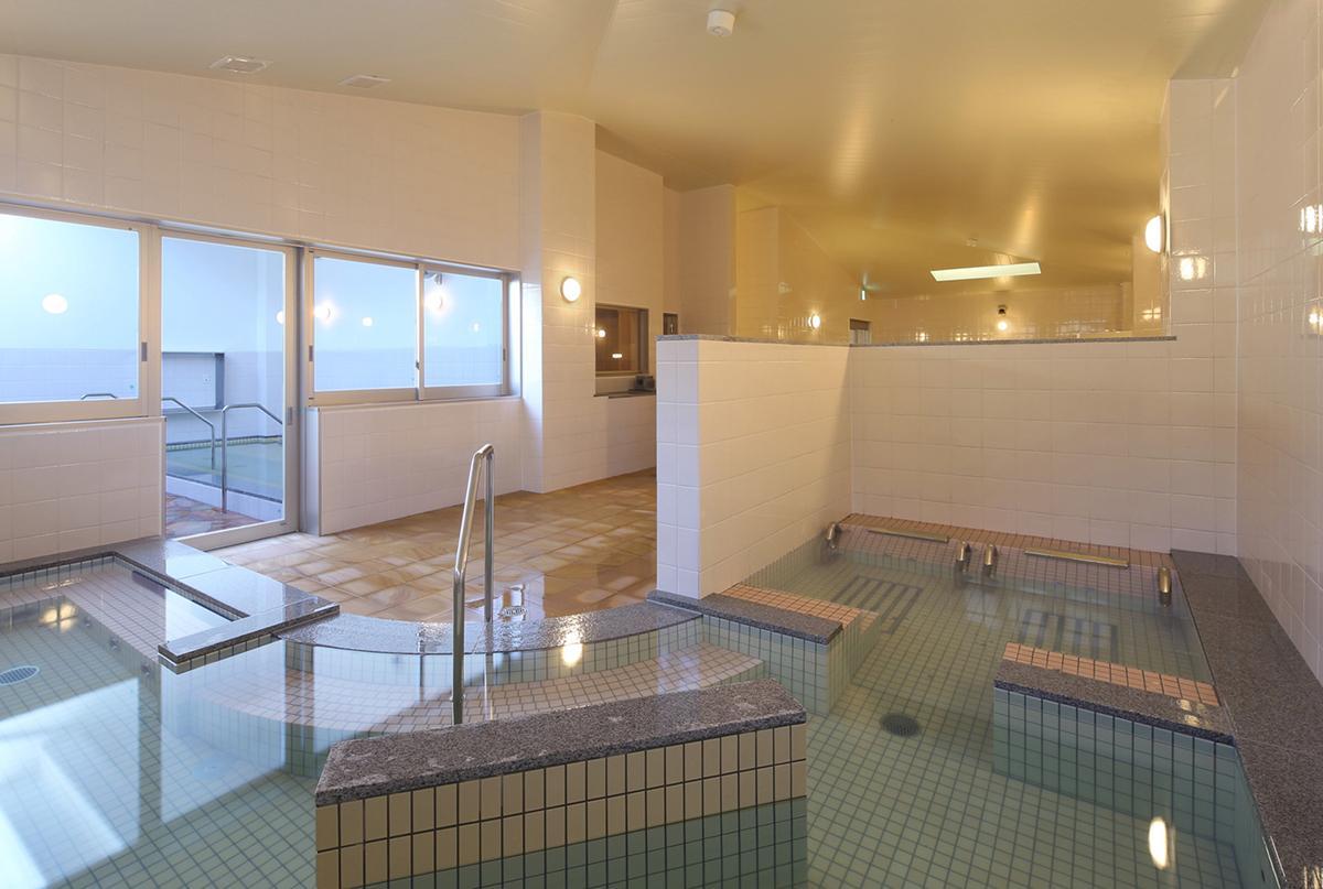 「鹿児島温泉 時之栖」の一般浴場