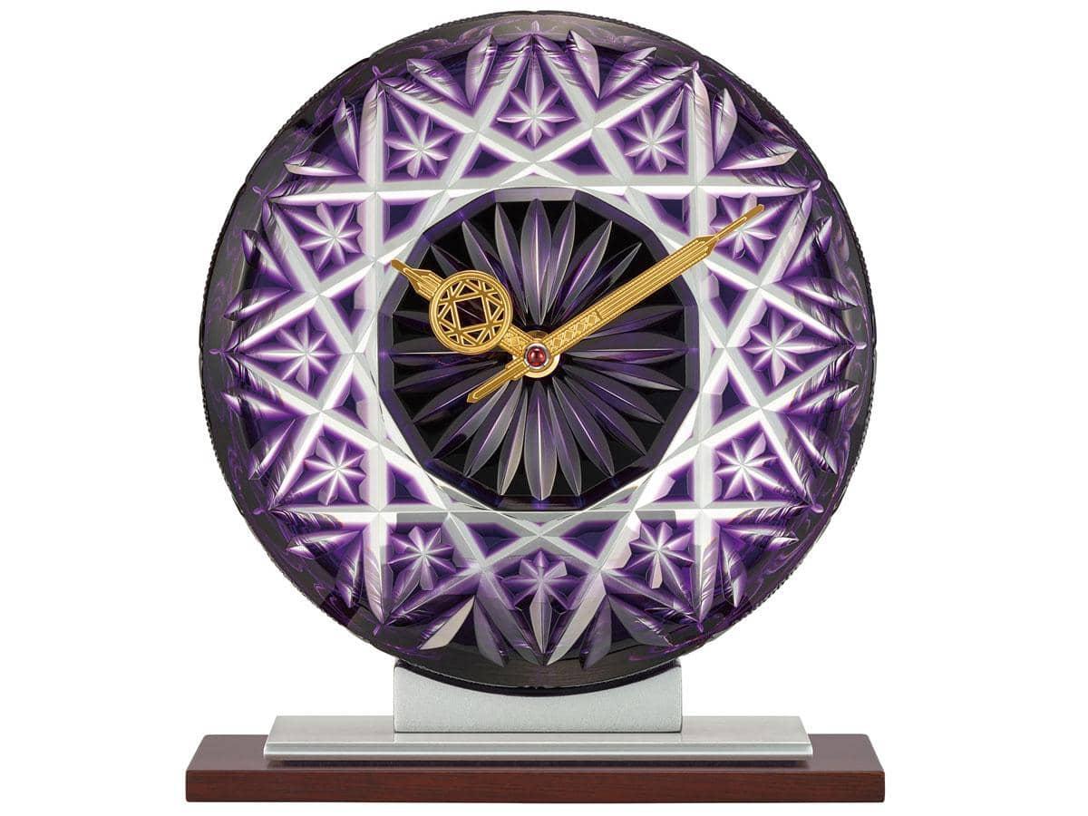「薩摩切子時計 RHG-S85」