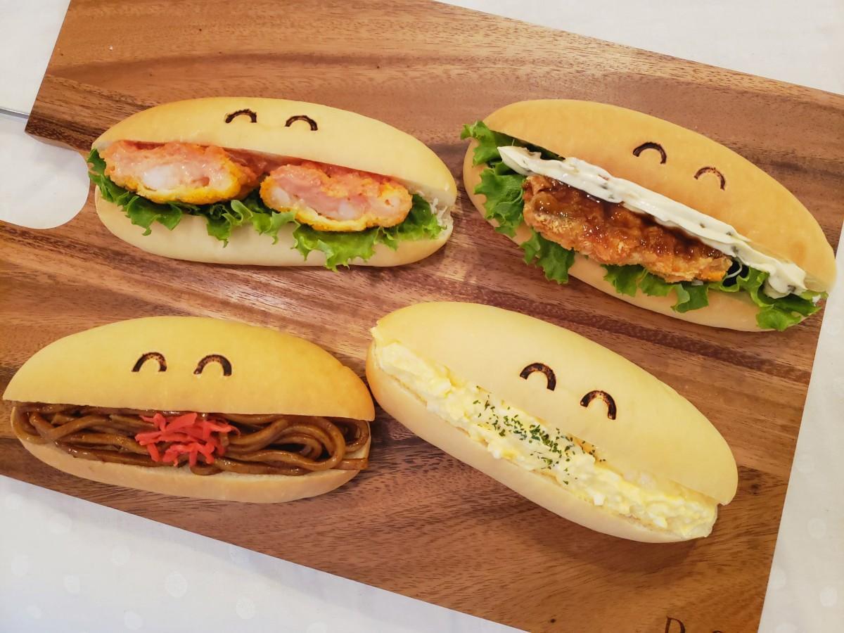 「Karu coppe」の総菜入りコッペパン