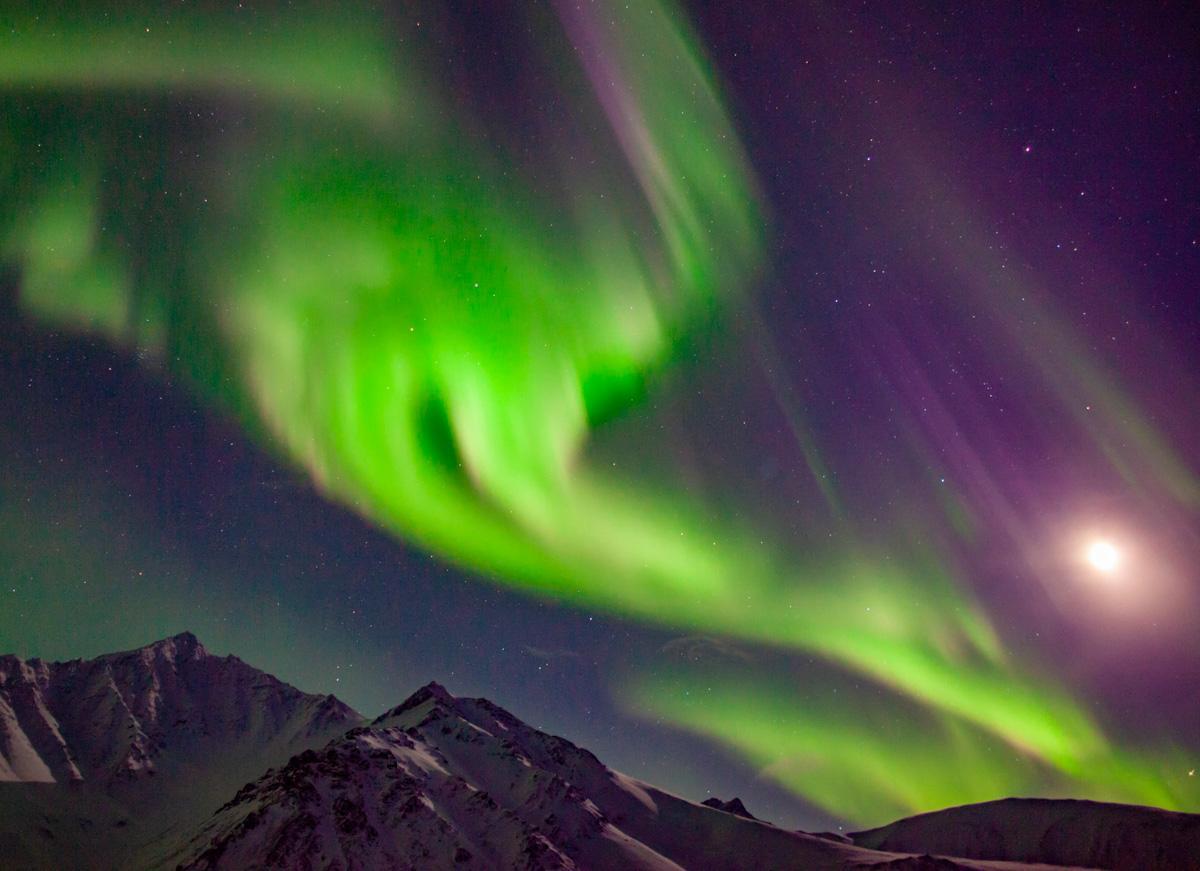 中垣哲也さんがアラスカで撮影したオーロラ