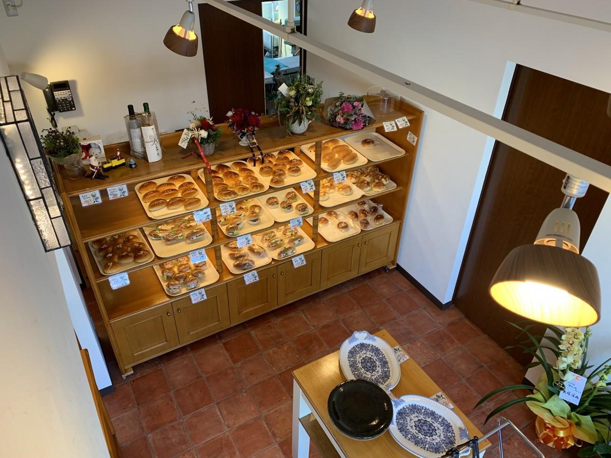 「パンの店フランセ」の店内