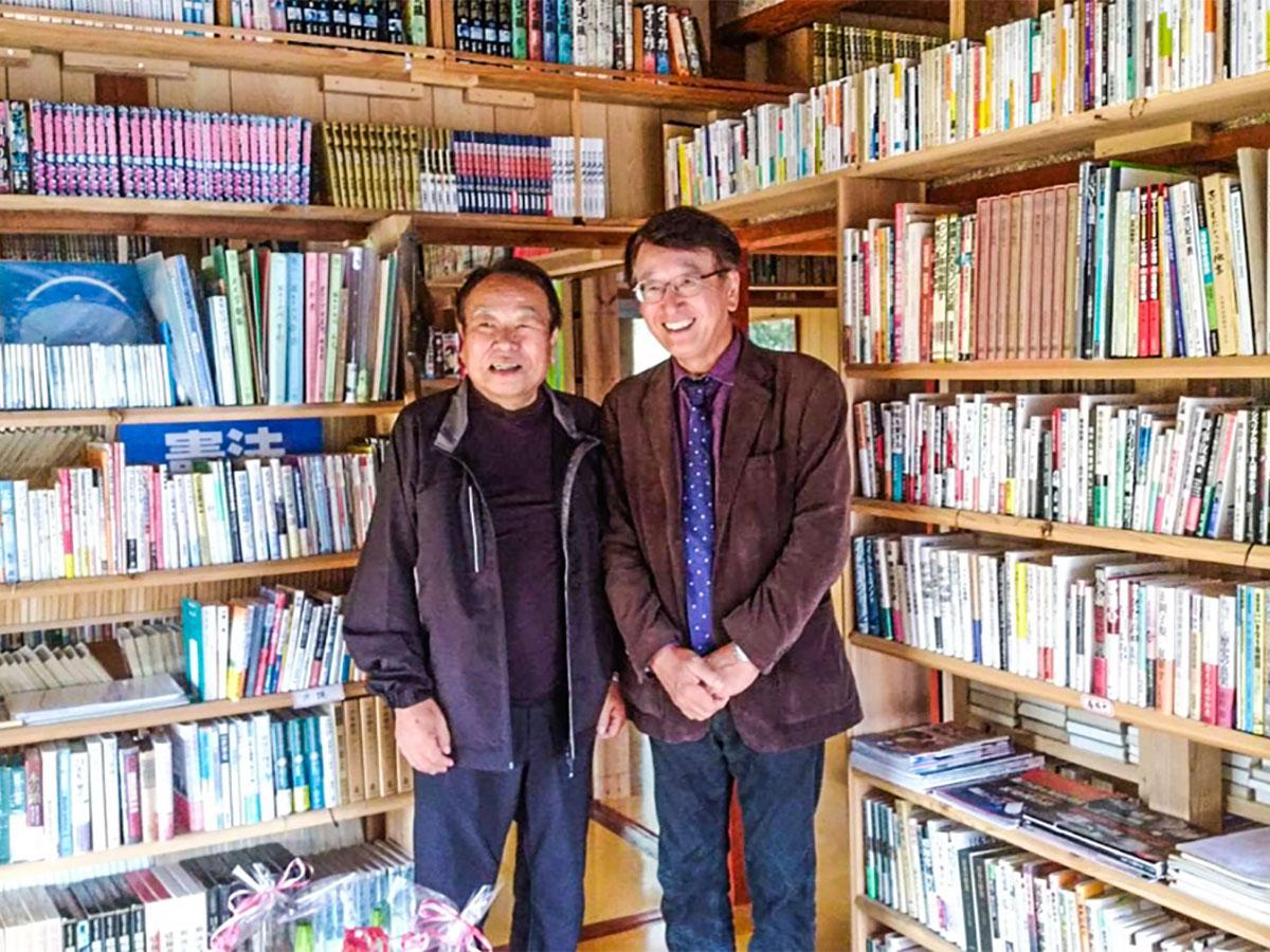 山口武文さん(左)と木村朗さん(右)