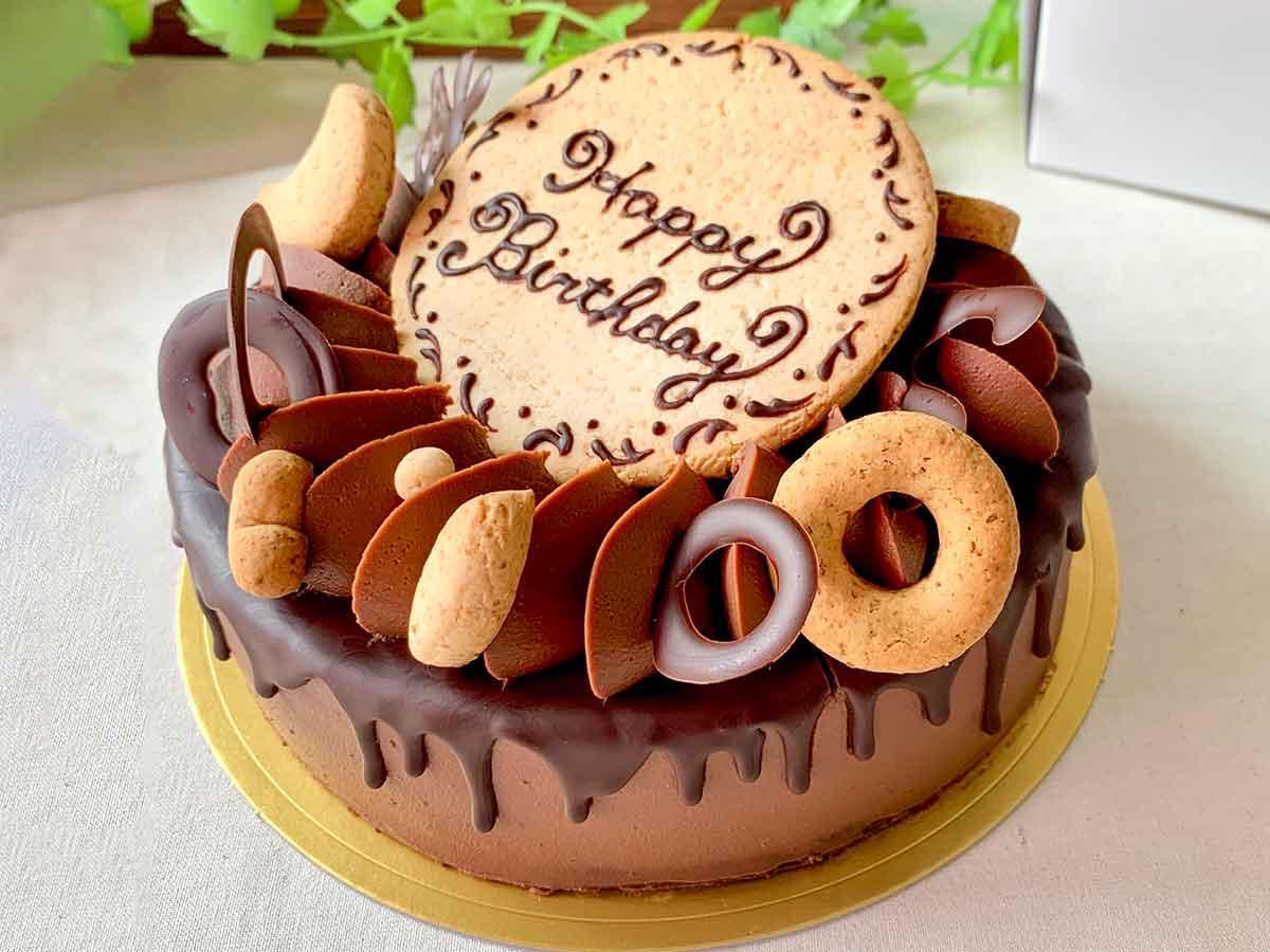 「ティーグル・ショコラ」のデコレーションケーキ