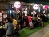 鹿児島・騎射場に焼き鳥居酒屋2号店 テラス席が盛況、週1回は「百円市」も