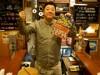 桜島フェリーに一夜限りの「横町」 鹿児島県産の食材を使った屋台グルメも