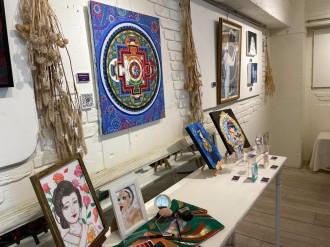 鹿児島・名山町で「艶」をテーマに公募グループ展 アーティスト25人が参加