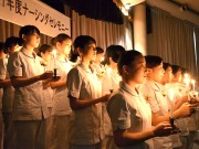加古川で白衣の式典、121人の看護学生が夢実現へ決意