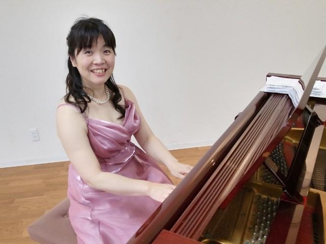 ピアニストの島崎純子さん