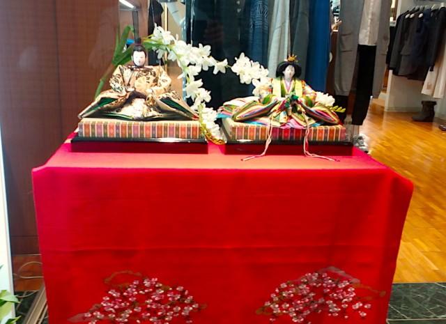 加古川・寺家町商店街26店舗で「ひな人形」展示