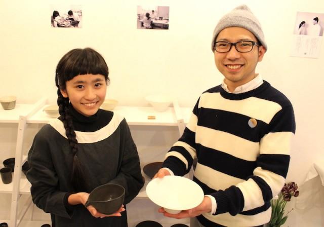 加古川の陶芸家が「小学校卒業記念」に師弟展 日常使いの器50点披露